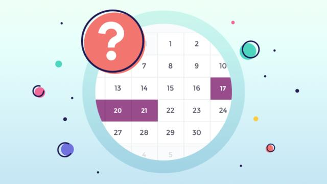 How to calculate the best date to buy?